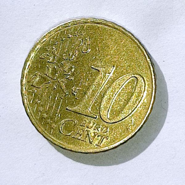 10-Cent-Stück, Vorderseite