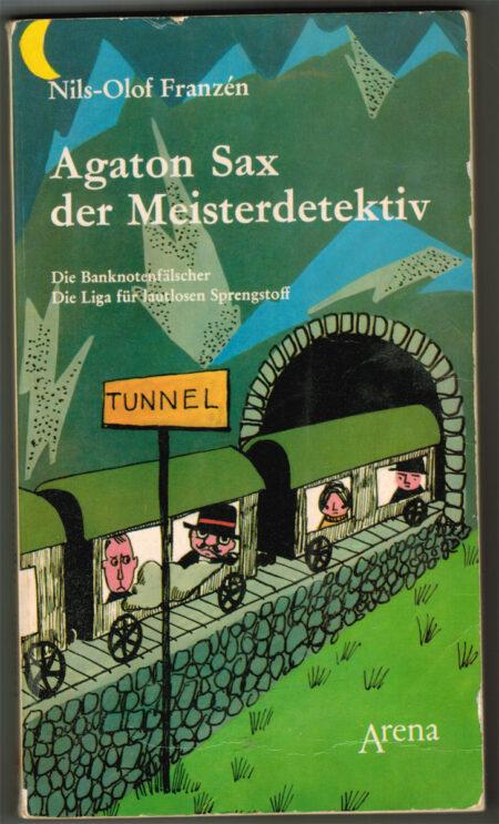 """Titelbild des Buchs """"Agaton Sax der Meisterdetektiv"""""""