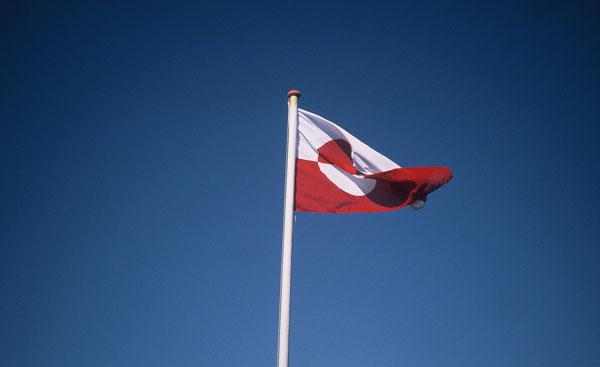 Flagge Grönlands