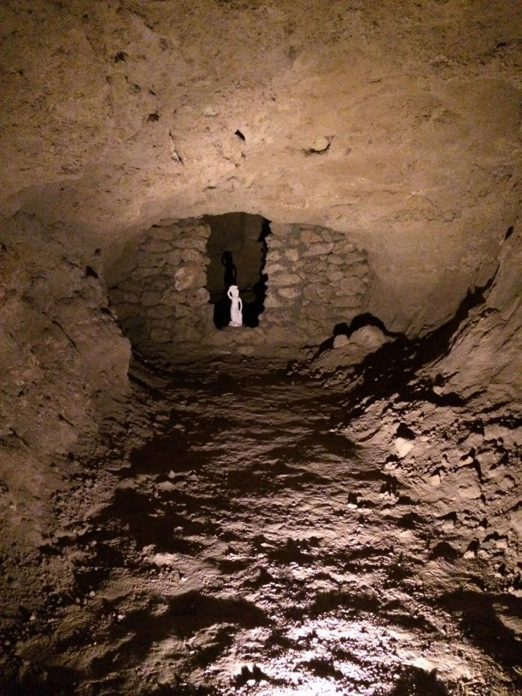 In der Olgahöhle